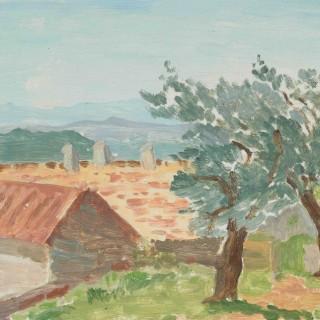 'Provence II' by Luke Dillon-Mahon (1917-1997)