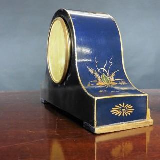 Edwardian Chinoiserie Decorated Mantel Clock, Mappin & Webb