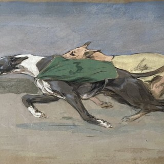 George Denholm Armour - Greyhounds