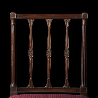 Fine Set of Eight George III Mahogany Dining Chairs