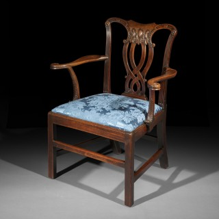 Fine George III Armchair, attributed to John Linnell