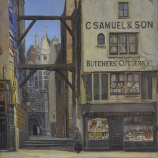 Old Shop in Long Lane by Rex Vicat Cole