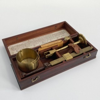 Georgian Chondrometer or Grain Scale by Dollond of London