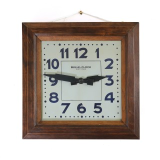 Antique French electric wall clock