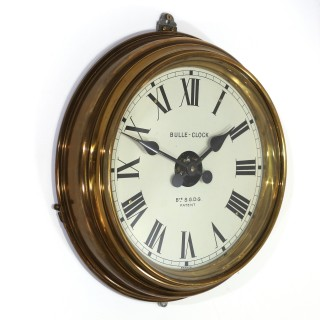 Bulle Model Ee- Brass Wall Clock