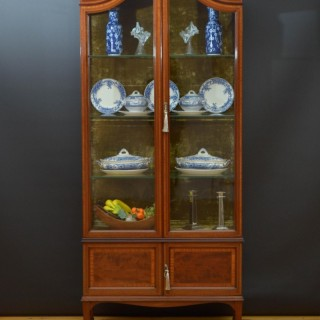 Shapland and Petter Edwardian Display Cabinet
