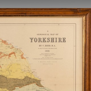 An Attractive Hand Coloured Print of Yorkshire