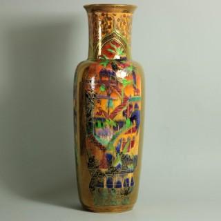 Wedgwood Fairyland Flame Lustre Pillar Vase