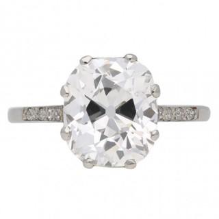 Golconda Type IIa diamond ring, circa 1905.