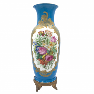 Paris Porcelain Vase, France, 19th Century