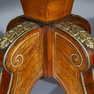 Regency Center Table, attributed to George Oakley