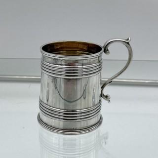 Antique Sterling Silver Christening Mug Edinburgh 1836 John Mckay