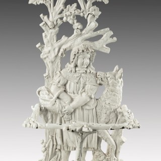 A Fine Quality and Complex Mid 19th Century Cast Iron Hall / Stick Stand
