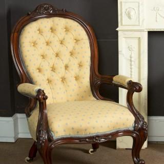 Victorian Gentlemans Armchair