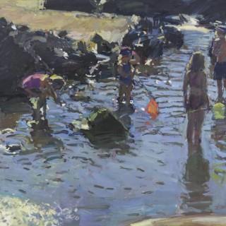 'An August Heatwave' by Luke Martineau (born 1970)