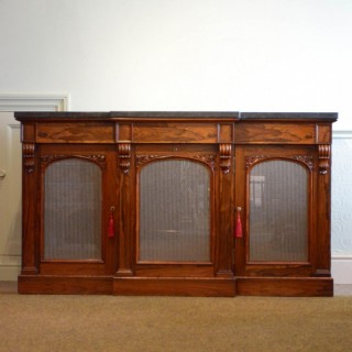 Finest quality William IV Rosewood Sideboard
