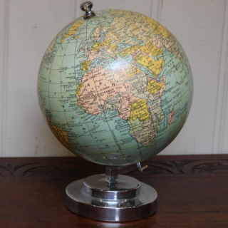 7 Inch  French Terrestrial Globe