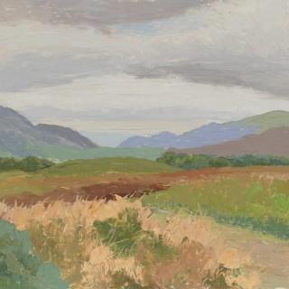 'Summer near Maam Cross, Connemara' by Luke Dillon-Mahon (1917-1997)