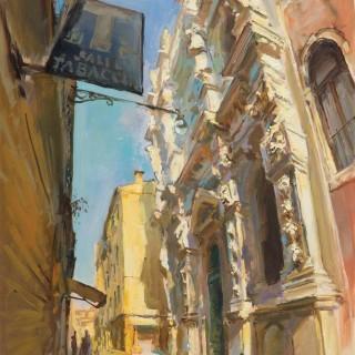 'Santa Maria dei Derelitti' by Rob Pointon ROI (born 1982)