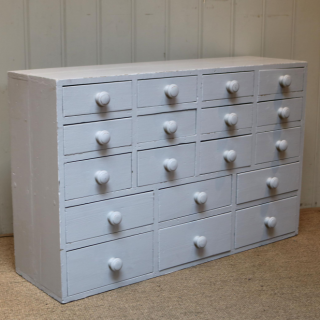 Early 20th Century Painted Collectors' Drawers