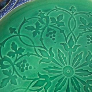 Minton Majolica Palissy Ware Plate