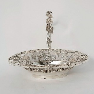 Antique Silver Basket