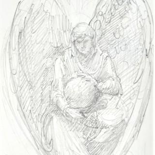 Sir William Blake Richmond - Angel