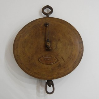 Augustus Siebe Patent Dial Weighing Machine by Marriott of 89 Fleet Street