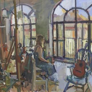 'Grace in the Studio' by Luke Martineau (born 1970)