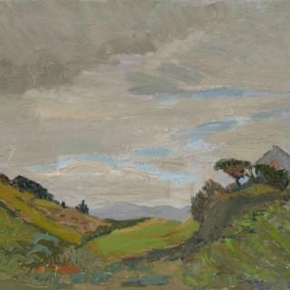 'Untitled Landscape' by Luke Dillon-Mahon (1917-1997)