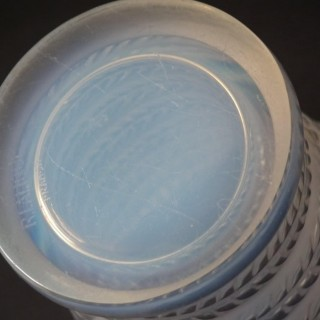 Rene Lalique Opalescent Glass 'Cytise' Vase