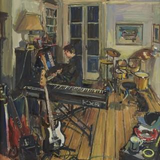 'Midnight Musician' by Luke Martineau (born 1970)