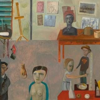 'The Art Room' by Simon Quadrat PPRWA NEAC (born 1946)