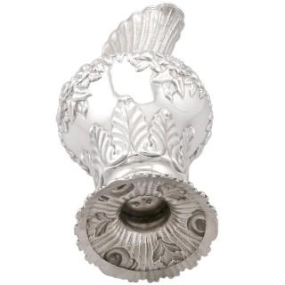 Irish Sterling Silver Water / Wine Jug - Antique William IV (1834)