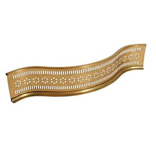 Small Georgian Brass Fender