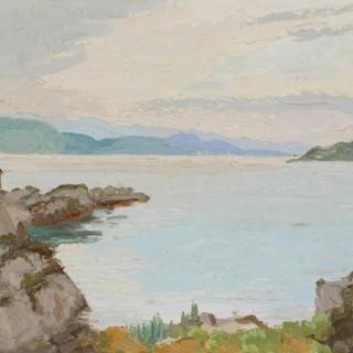 'Glenelg, Ross-shire, Scotland' by Luke Dillon-Mahon (1917-1997)