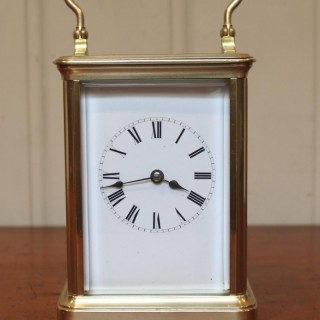 Large French Striking Carriage Clock