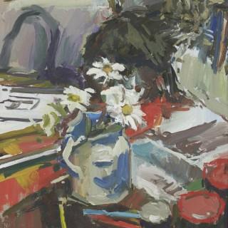 'Still Life with Zebidee' by Luke Martineau (born 1970)