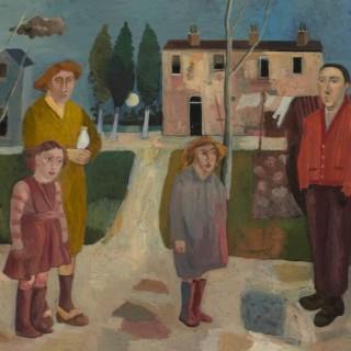 'The Family' by Simon Quadrat PPRWA NEAC (born 1946)