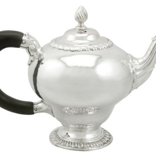 Sterling Silver Teapot - Antique George III