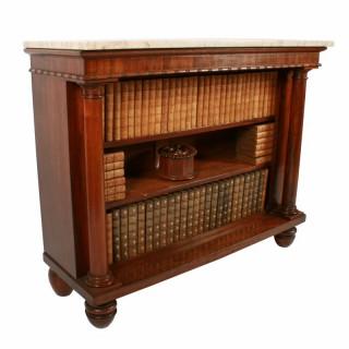George IV Open Bookshelves