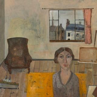 'The Studio' by Simon Quadrat PPRWA NEAC (born 1946)