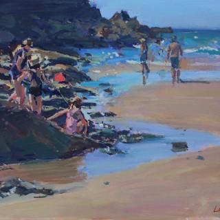 'On the rocks' by Luke Martineau (born 1970)