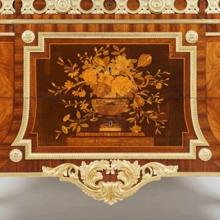 A Very Fine Louis XVI Style Commode in the Manner of Riesener
