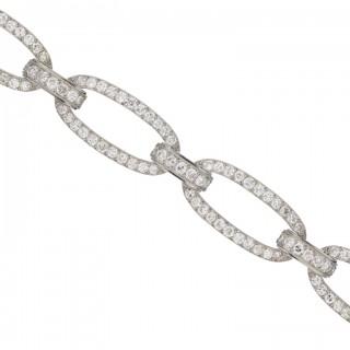 Georges Fouquet diamond bracelet, French, circa 1920.