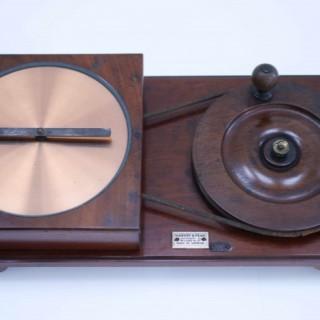 Late Victorian Arago's Disc Physics Demonstration Apparatus by Harvey & Peak London