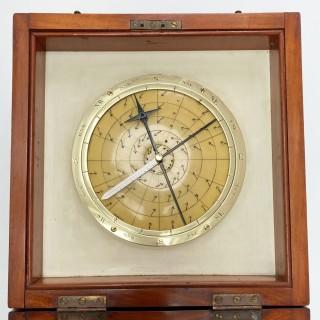Early Twentieth Century Cased Barocyclonometer or Typhoon Barometer