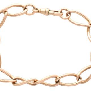 9 ct Yellow Gold Bracelet - Antique Circa 1910