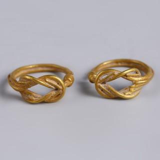 Ancient Greek Herakles Knot Earrings