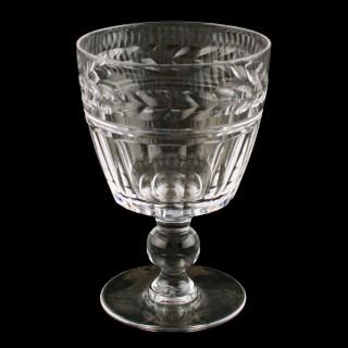 Set of Six Stuart Wine Glasses